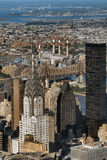 Midtown Manhattan view Royalty Free Stock Image