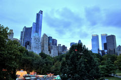 Midtown Manhattan View from Centra Park, New York City Royalty Free Stock Images