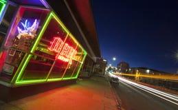 Midtown Neon Stock Photography
