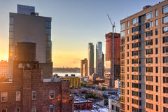 Midtown New York City Construction Royalty Free Stock Photography