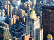 Midtown New York City including the classic New York Life Building Royalty Free Stock Photos