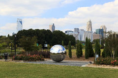 Midtown Park in Charlotte, North Carolina Stock Images