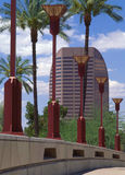 Midtown Phoenix, AZ Photographie stock