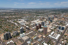 Midtown Phoenix, o Arizona imagem de stock