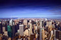 Midtown Skyline Stock Photography