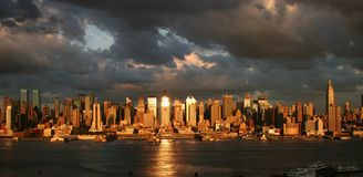 Midtown-Skyline Stockbild