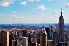 Midtown skyline Royalty Free Stock Photo