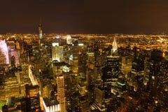 Midtown skyline Stock Photos