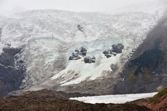 Midui Glacier. Close shot of Midui Glacier in Tibet, China royalty free stock photography