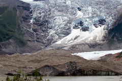 Midui glacier Royalty Free Stock Photography