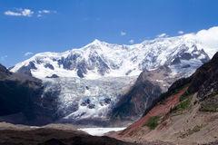 Midui glacier Royalty Free Stock Images