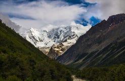 Midui glacier Stock Image