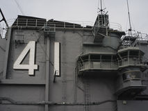 Midway Carrier Museum. San Diego, CA,war,41,midway, sightseeing, history Stock Photo
