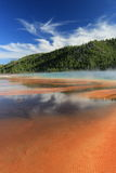 Midway Geyser Basin Stock Photography