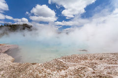 Midway Geyser Basin, Yellowstone National Park Wyoming Stock Photo