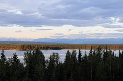 Midway Lake, Alaska Stock Photos