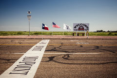 The midway point along Route 66 Royalty Free Stock Photography