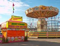 Midway przy jarmarkiem Zdjęcia Royalty Free