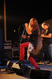 Midway on stage at Rockfest Siedlce Royalty Free Stock Photos