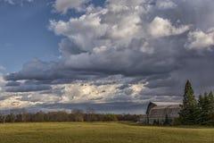 Midwest αγρόκτημα φθινοπώρου στοκ φωτογραφία με δικαίωμα ελεύθερης χρήσης