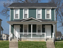 Midwest διπλή ή διπλή κατοικία στοκ φωτογραφίες με δικαίωμα ελεύθερης χρήσης