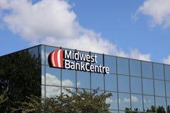Midwest κέντρο τράπεζας, Τσέστερφιλντ, MO στοκ εικόνες