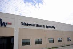 Midwest μάνικα και κτήριο ειδικότητας, Fort Worth, Τέξας στοκ φωτογραφία