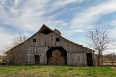 Midwest σιταποθήκη σανού στοκ φωτογραφίες με δικαίωμα ελεύθερης χρήσης