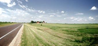 Midwest φυσικό Drive Στοκ Φωτογραφίες