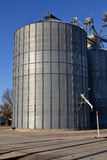 Midwest Grain Elevator Silo Bin Royalty Free Stock Image