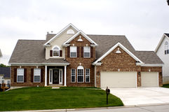Midwest House. A nice house located in the mid-west Stock Photo