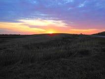 Midwest morgonsoluppgång arkivbilder