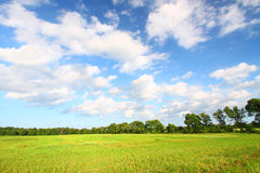 Midwest Prairie Scenery Royalty Free Stock Photography