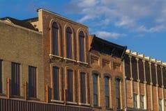 Midwest skyltfönsterfönster royaltyfri bild