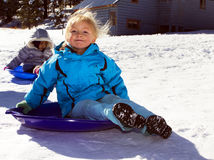 Midwest Winter Extreme Cold and Snow Royalty Free Stock Image