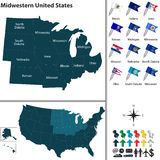 Midwestern United States Stock Image