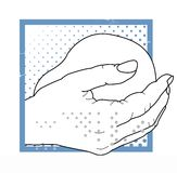 Midwifery - Helping Hands Stock Image