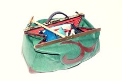 Midwives Bag Royalty Free Stock Photography