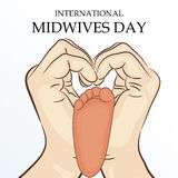 Midwives Day Royalty Free Stock Photos