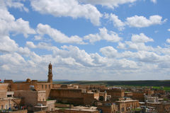 Midyat, turkey. View of the town of midyat, turkey stock photography