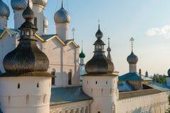 Midzomer Rostov het Kremlin Stock Afbeeldingen