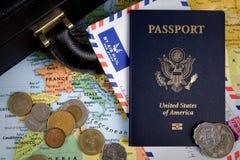 Międzynarodowa Biznesowa podróż Zdjęcie Stock