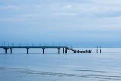Międzyzdroje Pier in Poland Royalty Free Stock Photos