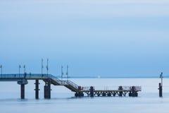 Międzyzdroje Pier in Poland Stock Photos