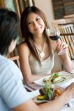 Mieć Gość restauracji Zdjęcia Royalty Free