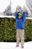 Mieć zabawę w śniegu Zdjęcie Stock