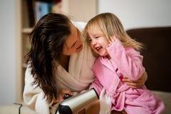Mieć zabawę wpólnie - matka i dziecko Zdjęcia Stock