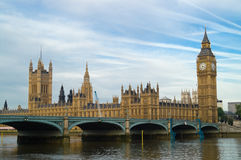 mieści parlamentu fotografia stock