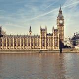mieści London parlamentu Zdjęcia Royalty Free