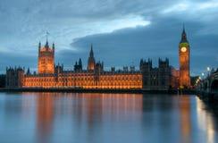 mieści parlamentu Obrazy Stock